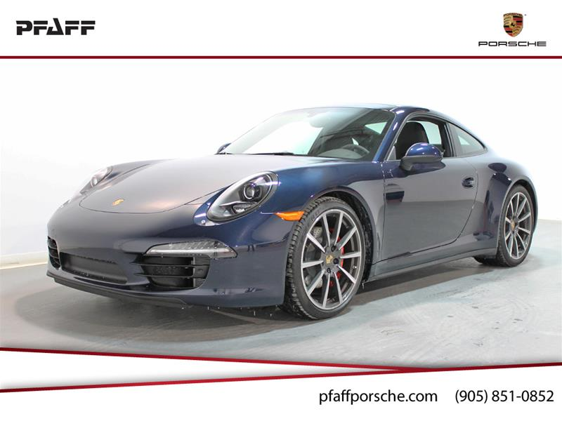2014 Porsche 911 Carrera 4S, Dark Blue Metallic