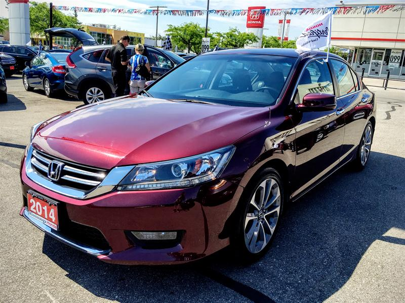 2014 Honda Accord Sedan L4 Sport CVT
