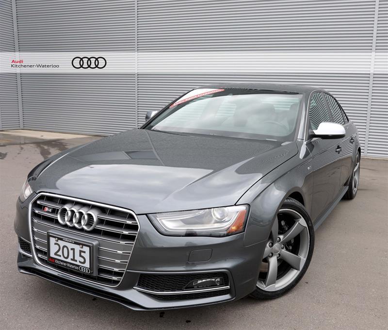 Used 2015 Audi S4, $47499