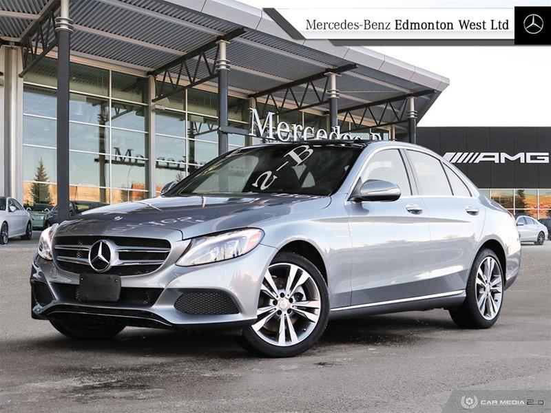 Certified Pre-Owned 2015 Mercedes-Benz C300 4MATIC Sedan