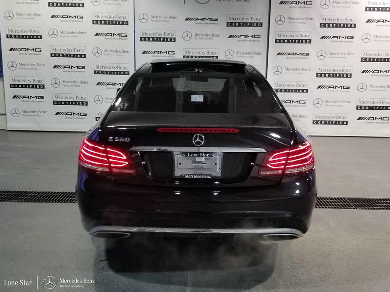 Certified Pre-Owned 2015 Mercedes-Benz E-CLASS E550