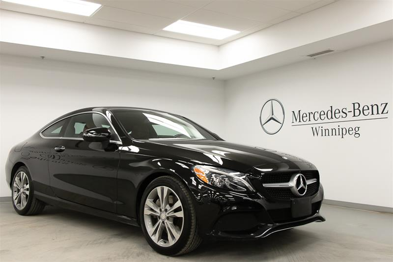 Certified Pre-Owned 2017 Mercedes-Benz C300 4MATIC Coupe