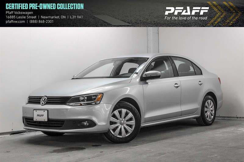 Certified Pre-Owned 2014 Volkswagen Jetta Trendline plus 2.0 TDI 6sp DSG at w/ Tip