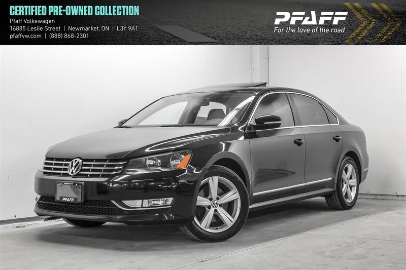 Certified Pre-Owned 2015 Volkswagen Passat Comfortline 2.0 TDI 6sp DSG at w/ Tip