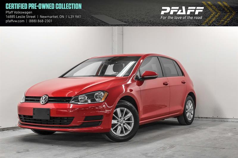Certified Pre-Owned 2015 Volkswagen Golf 5-Dr 1.8T Trendline at Tip