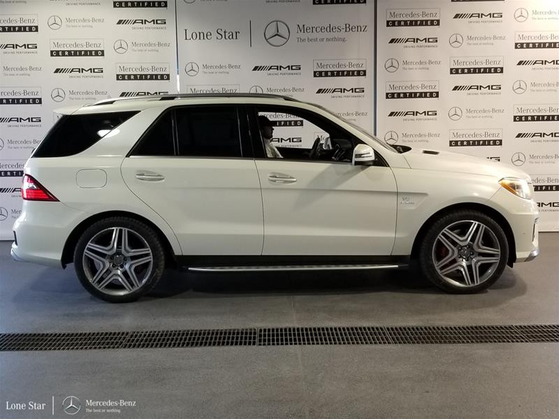Pre-Owned 2013 Mercedes-Benz ML-CLASS ML63 AMG