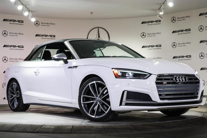 Pre-Owned 2018 Audi S5 Cabriolet S5