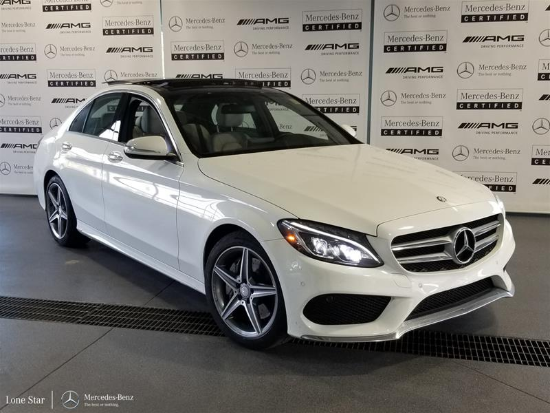 Pre-Owned 2015 Mercedes-Benz C-CLASS C300