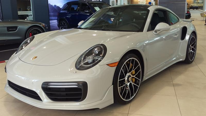 Pre-Owned 2019 Porsche 911 Turbo S Coupe PDK