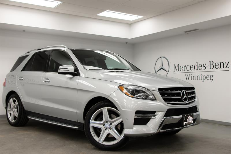 Certified Pre-Owned 2015 Mercedes-Benz ML350 BlueTEC 4MATIC SUV
