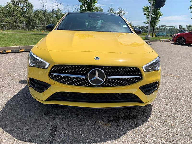 New 2020 Mercedes-Benz CLA250 4MATIC Coupe