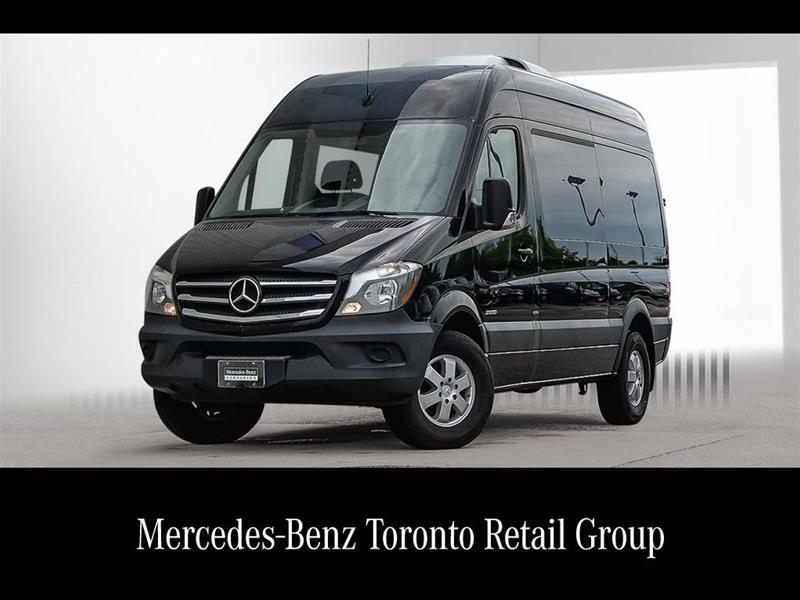 Certified Pre-Owned 2016 Mercedes-Benz Sprinter 2500 Passenger Sprinter 2500 Passenger 144
