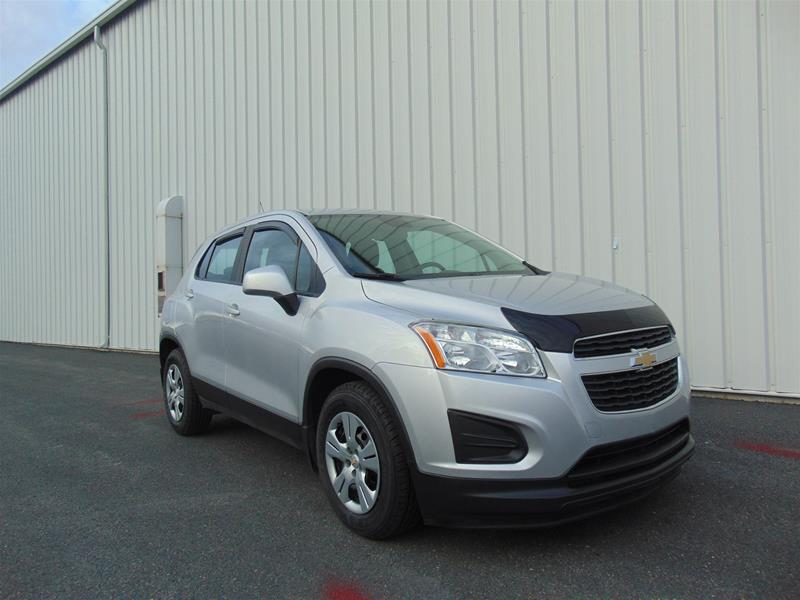 Certified Pre-Owned 2015 Chevrolet Trax FWD LS Front Wheel Drive Crossover
