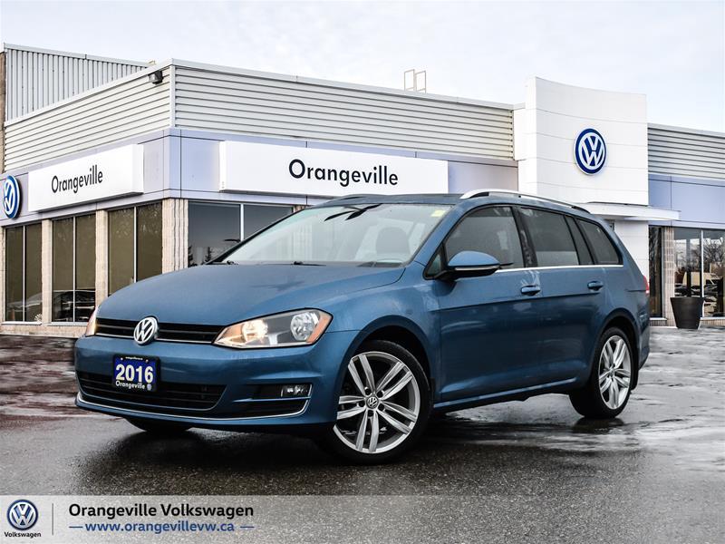 Certified Pre-Owned 2016 Volkswagen Golf Sportwagen