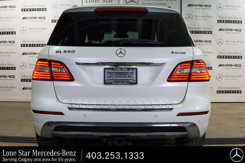 Pre-Owned 2013 Mercedes-Benz ML-CLASS ML550