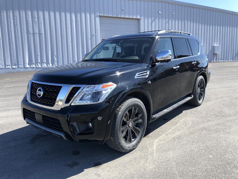 2020 Nissan Armada Platinum at