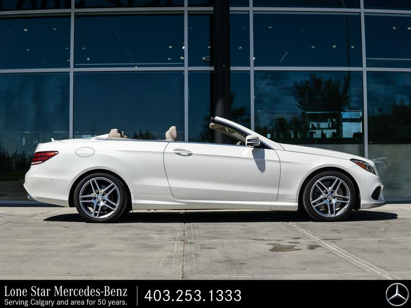 Certified Pre-Owned 2017 Mercedes-Benz E550 Cabriolet