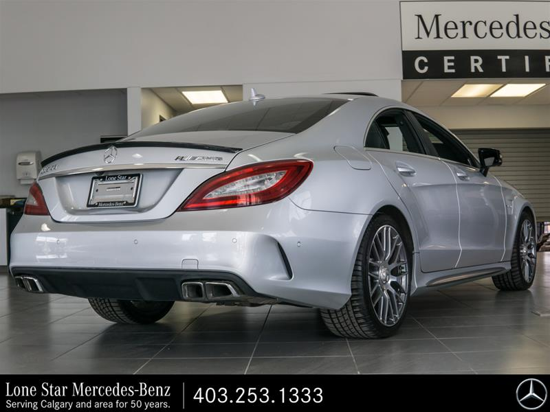 Certified Pre-Owned 2015 Mercedes-Benz CLS63 AMG S-Model 4MATIC Coupe