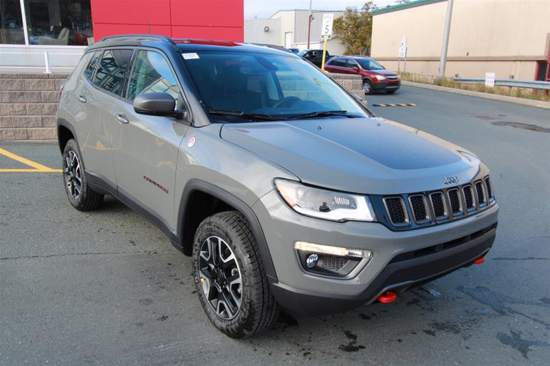 2021 Jeep Compass Trailhawk Elite