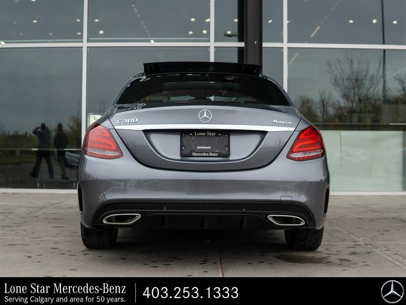Certified Pre-Owned 2018 Mercedes-Benz C300 4MATIC Sedan
