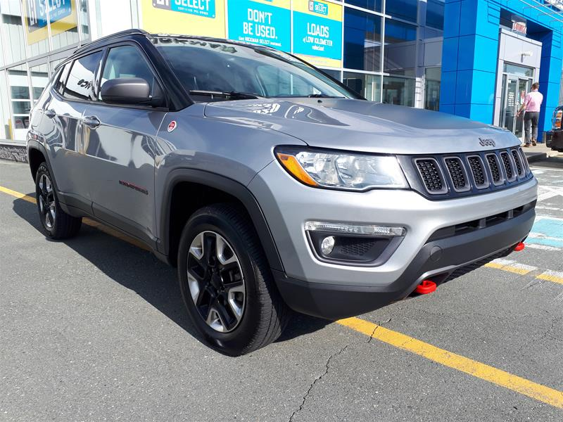 Pre-Owned 2018 Jeep Compass Trailhawk Four Wheel Drive SUV