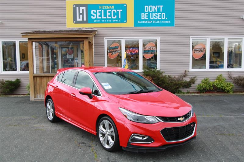 Pre-Owned 2018 Chevrolet Cruze Premier Front Wheel Drive 5-Door Hatchback